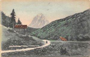 Landscape Austria Art Artist Unused paper tear bottom edge