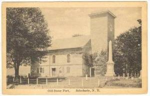 Exterior, Old Stone Fort. Schoharie, New York, PU-1923