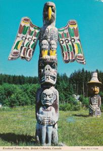 Canada British Columbia Vancouver Island Alert Bay Kwakiutl Indian Totem Pole