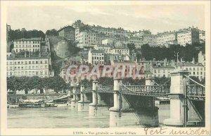 Postcard Old Lyon Vue Generale