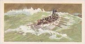 Brooke Bond Vintage Trade Card Saga Of Ships 1970 No 19 Greathead's Lifeboat