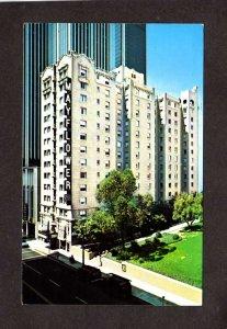 CA Mayflower Hotel S Grand Ave Los Angeles California Postcard