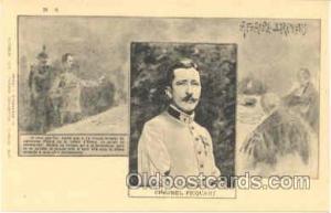 Colonel Picquart, Judaic Postcard Postcards  Colonel Picquart