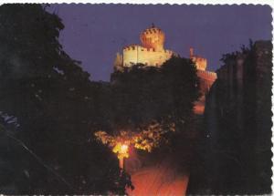 REPUBBLICA DI S. MARINO, Seconda Torre - notturno, Second Tower at night