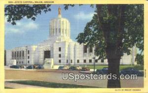 State Capitol Salem OR Unused