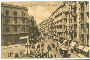 Italy, Napoli, Strada Toledo ora Via Roma, early 1900s