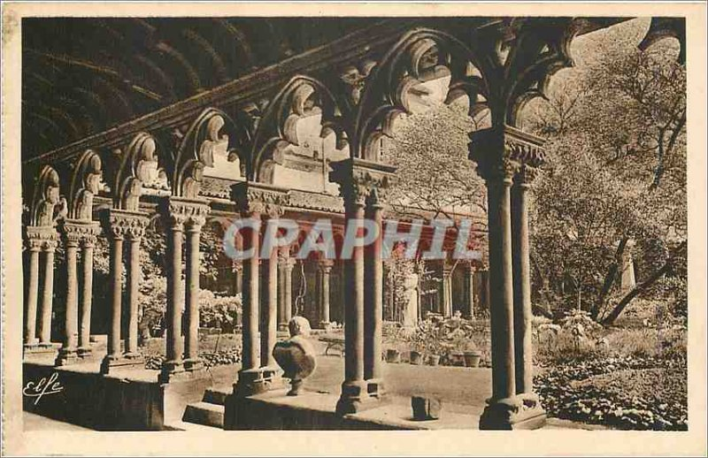 Old Postcard Toulouse The Museum Grand Cloitre des Augustins