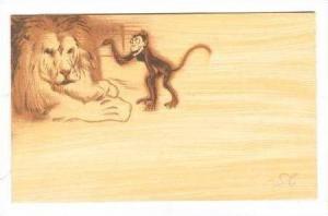 Tri-Fold, Don\´t Be Foolish, Lion, monkey ,Devil In Jester Hat, 00-10s
