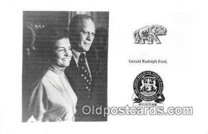 Michigan, USA Postcard Gerald Rudolph Ford