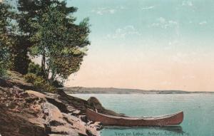 Canoe View on Lake Auburn - Auburn, Maine - DB