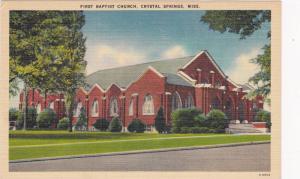 Baptist Church , Crystal Springs , Mississippiu , 30-40s