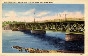 MA - Fall River. Brightman Street Bridge Over Taunton River