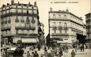 CPA AK CONSTANTINE Rue Caraman ALGERIA (786681)