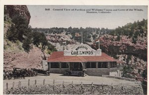 MANITOU, Colorado, 1900-1910's; General View Of Pavilion And Williams Canon