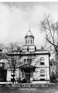 H72/ Lebanon Ohio RPPC Postcard c1950s Warren County Court House 51