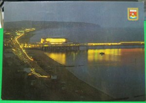 England Isle of Wight Sandown at Night - posted