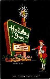 Pennsylvania PA Lancaster Holiday Inn Postcard Old Vintage Card View Postal