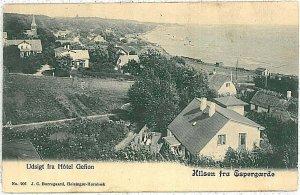 VINTAGE POSTCARD: DENMARK -  Espergærde 1909