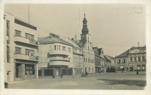 Rychnov nad Kněžnou stare namesti Czech Republic photo postcard