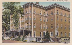 Maine Waterville The Elmwood Hotel Curteich