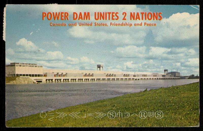 Moses-Saunders Power Dam