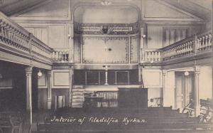 Interior af Filadelfia Kyrkan , Sweden , 00-10s