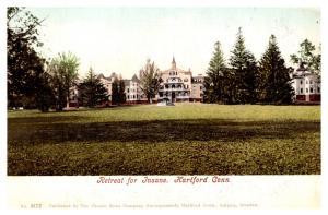 Connecticut  Hartford , Retreat for Insane