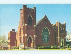 Unused Pre-1980 CHURCH SCENE Washington Georgia GA p3732
