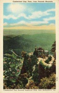 Postcard Cumberland Gap National Historical Park Middlesboro Kentucky