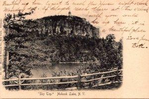 New York Mohonk Lake Sky Top 1906