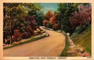 Vermont Greetings From Newbury 1944
