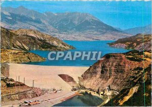 Modern Postcard The High Alps Dam Serre Poncon