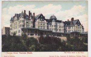 Exterior, Tacoma Hotel,   Tacoma,  Washington,  00-10s
