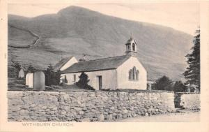 THIRLMERE CUMBRIA UK WYTHBURN CHURCH~PEACOCK PLATINO PHOTO POSTCARD