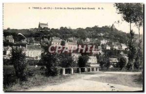 Troo Old Postcard town of Entree (South West Coast)