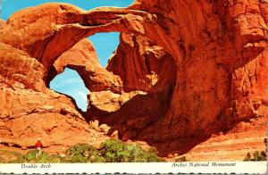 Utah Arches National Monument Double Arch 1970