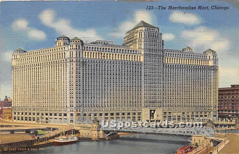 Merchandise Mart Chicago IL 1947