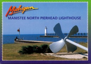 Michigan Manistee North Pierhead Lighthouse