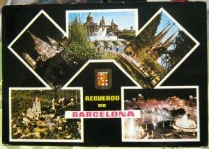 Spain Recuerdo de Barcelona - posted