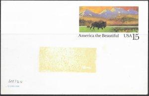 US Buffalo unused. label residue. UX120