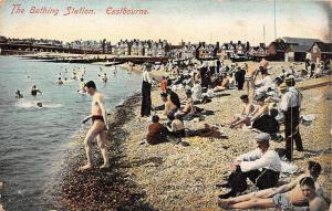 Eastbourne, The Bathing Station Sunbathing Beach