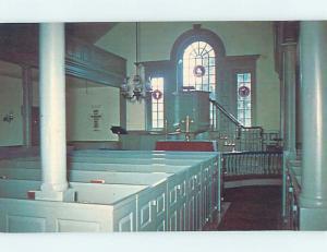 Unused Pre-1980 BEAVER DAM CHURCH SCENE Harbeson Delaware DE L3781