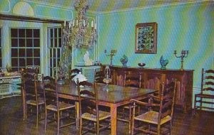 Dining Room Of The Big House At Malabar Farm Mansfield Ohio