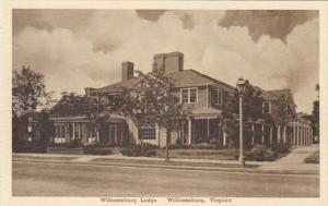 Virginia Williamsburg The Williamsburg Lodge Albertype