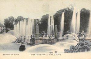 Fountains Post Card Le Bassin de Neptune Parc de Versailles Unused