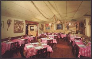 Golden Zither Restaurant,Milwaukee,WI Postcard