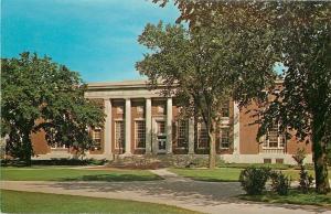 Cedar Rapids Iowa~Coe College~Stewart Memorial Library~1960s Postcard