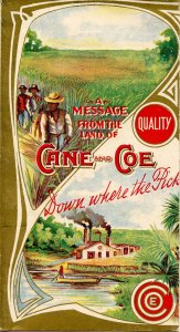 Advertising -  Brochure, Cane and Coe Molasses, Sorghum   (6 X 3.25 folded))