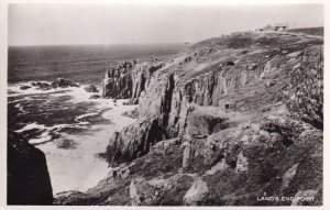 RP; CORNWALL, England, 1920-1940s; Land's End Point