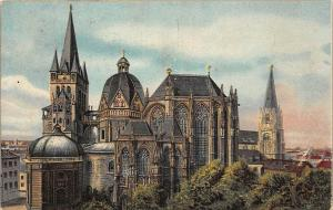 Bad Aachen Der Dom Cathedral Die Kathedrale Catedral
